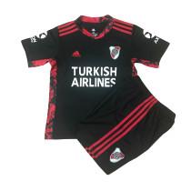Kids River Plate Black Goalkeeper Jersey 2021