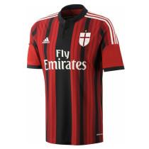 Mens AC Milan Retro Home Jersey 2014/15