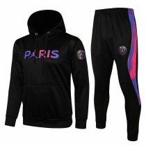 Mens PSG x JORDAN Hoodie Sweatshirt + Pants Suit Black 2021/22