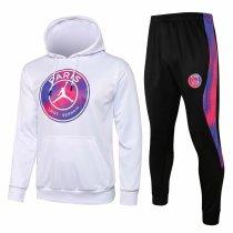 Mens PSG x JORDAN Hoodie Sweatshirt + Pants Suit White II 2021/22