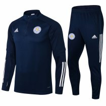 Mens Leicester City Training Suit Navy 2021/22