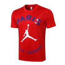 Mens PSG x Jordan T-Shirt Red 2021/22