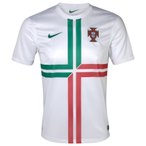 Mens Portugal Retro Away Jersey 2012