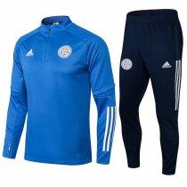 Mens Leicester City Training Suit Blue 2021/22