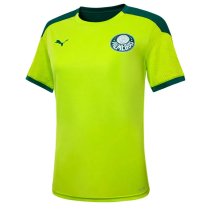 Mens Palmeiras Short Training Jersey Green 2021/22