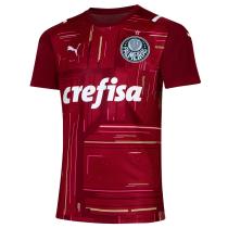 Mens Palmeiras Goalkeeper Jersey Red 2021/22