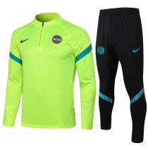 Mens Inter Milan Training Suit Yellow 2021/22