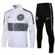 Mens Club America Jacket + Pants Training Suit White 2021/22