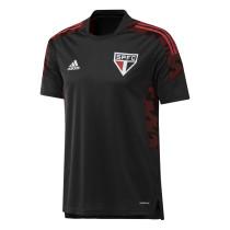 Mens Sao Paulo FC Short Training Jersey Mens Black 2021/22