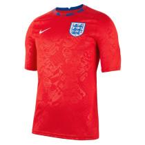 Mens England Short Training Jersey Red 2021/22