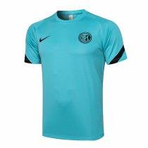 Mens Inter Milan Short Training Jersey Green 2021/22