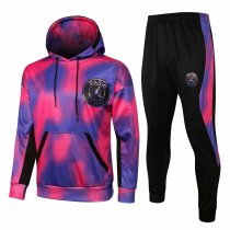 Mens PSG x JORDAN Hoodie Sweatshirt + Pants Suit Pink 2021/22