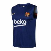 Mens Barcelona Singlet Navy 2021/22