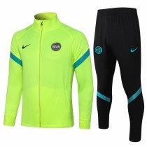 Mens Inter Milan Jacket + Pants Training Suit Yellow 2021/22