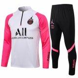 Mens PSG x Jordan Training Suit White - Pink 2021/22