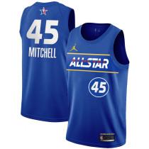 Mens NBA All-Star Game Eastern Conference Jordan 2020/21 Royal Swingman Jersey