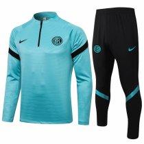 Mens Inter Milan Training Suit Green 2021/22