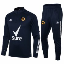 Mens Wolverhampton Training Suit Navy 2021/22