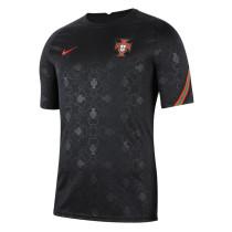 Mens Portugal Short Training Jersey Black 2021/22