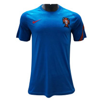 Mens Portugal Short Training Jersey Blue 2021/22