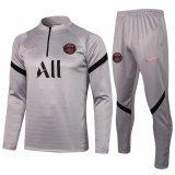 Mens PSG Training Suit Light Grey 2021/22