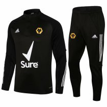 Mens Wolverhampton Training Suit Black 2021/22