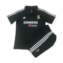 Kids Real Madrid Retro Away Jersey 2002/03