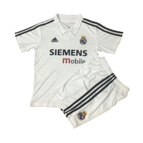 Kids Real Madrid Retro Home Jersey 2002/03