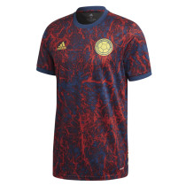 Mens Colombia Short Training Jersey Red 2021/22