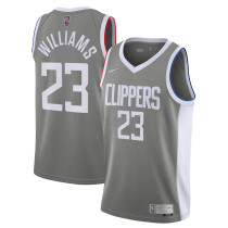 Mens Los Angeles Clippers Nike Royal 2020/21 Swingman Jersey - Earned Edition