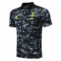 Mens Juventus Polo Shirt Black 2021/22