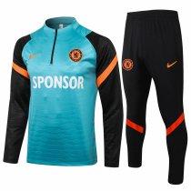Mens Chelsea Training Suit Green 2021/22