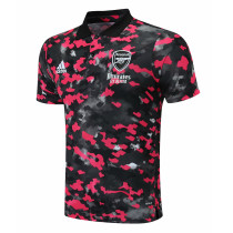 Mens Arsenal Polo Shirt Red 2021/22