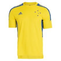 Mens Cruzeiro Short Training Jersey Yellow 2021/22