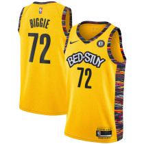 Mens Brooklyn Nets Nike Black 2020/21 Swingman Jersey - Limited Edition