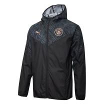 Mens Manchester City All Weather Windrunner Jacket Black 2021/22