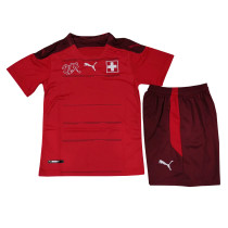 Kids Switzerland Home Jersey 2021
