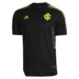Mens S. C. Internacional Short Training Jersey Mens Black 2021/22