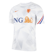 Mens Netherlands Short Training Jersey White 2021/22