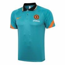 Mens Chelsea Polo Shirt Green 2021/22