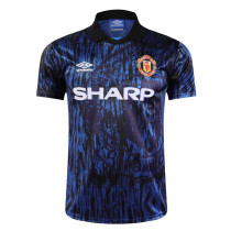 Mens Manchester United Retro Away Jersey 1993-1994