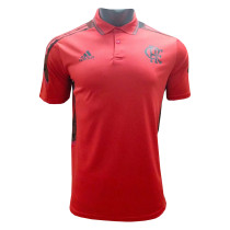 Mens Flamengo Polo Shirt Red 2021/22