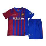 Kids Barcelona Home Jersey 2021/22