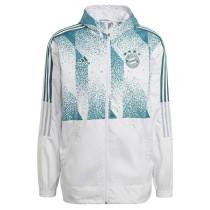 Mens Bayern Munich All Weather Windrunner Jacket White 2021/22