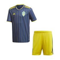 Kids Sweden Away Jersey 2021
