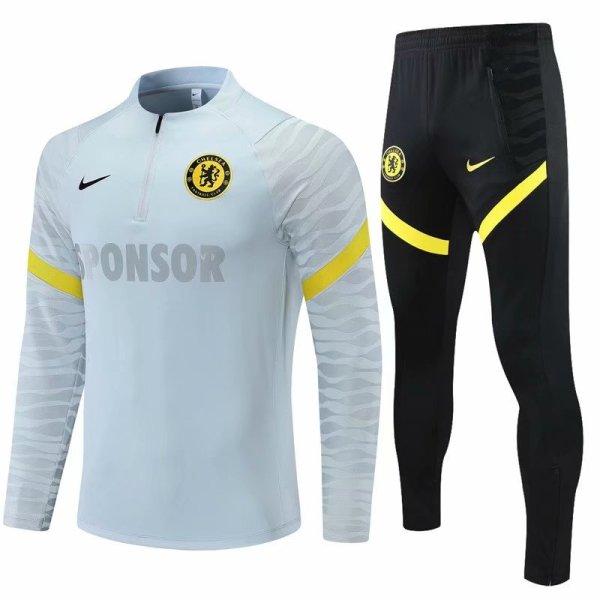 Mens Chelsea Training Suit Grey 2021/22