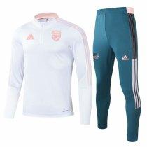 Mens Arsenal Training Suit White 2021/22