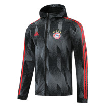 Mens Bayern Munich All Weather Windrunner Jacket Black 2021/22