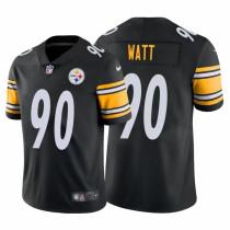 Mens Pittsburgh Steelers T.J. Watt Nike Black NFL Jersey 2021