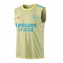 Mens Arsenal Singlet Yellow 2021/22